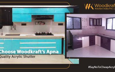 Choose Woodkraft's Apna Quality Acrylic Shutter